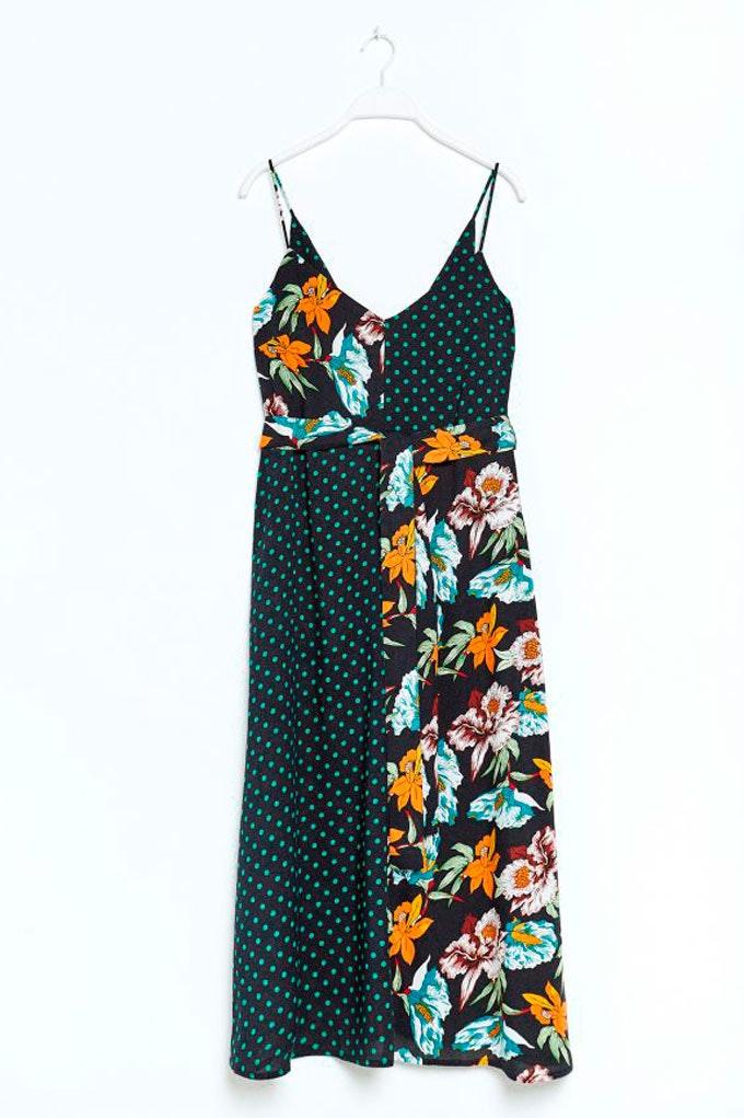 Vestido de verano versátil con estampados