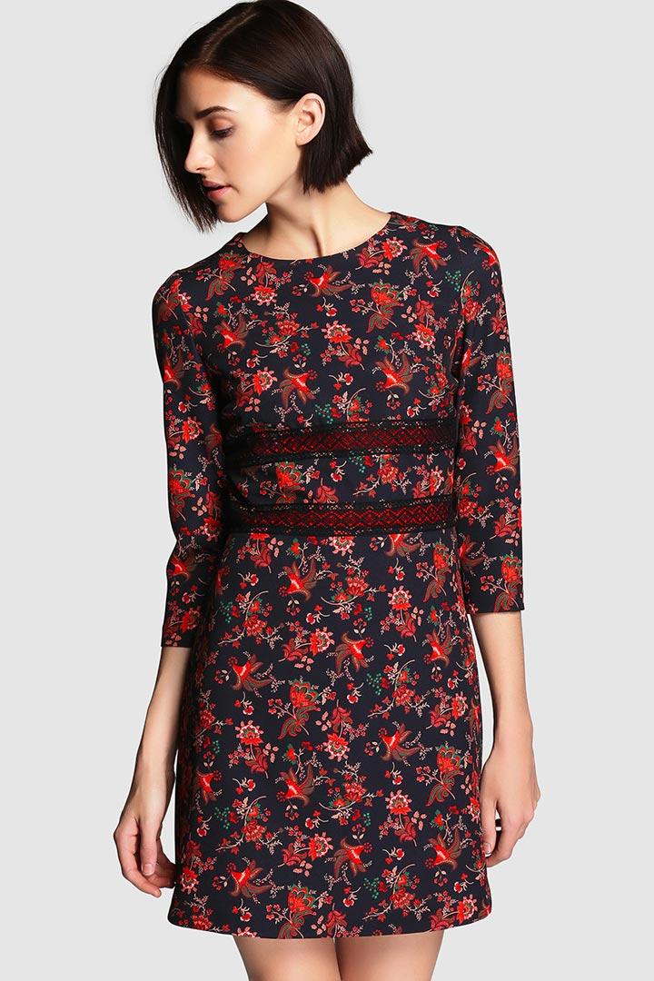 Vestidos Frescos De Flores Moda Stylelovely