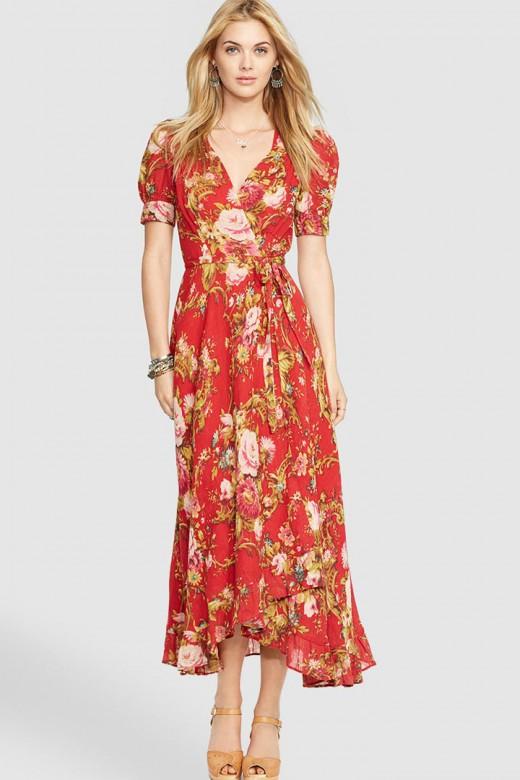 Vestido de flores de Denim&Supply Ralph Lauren