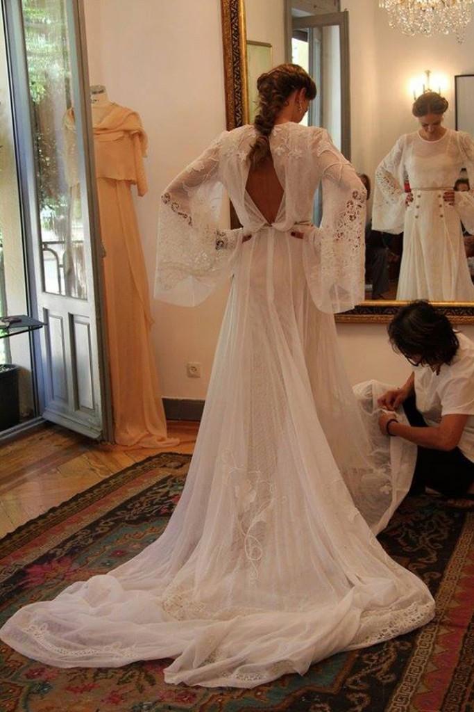 vestidos de novia helena mareque