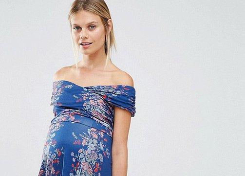 Vestidos para invitadas embarazadas DE FLORES