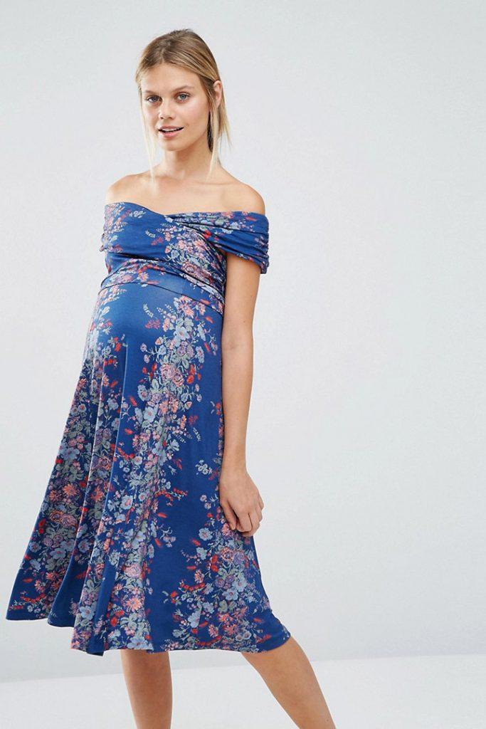 Vestidos para invitadas embarazadas premamá