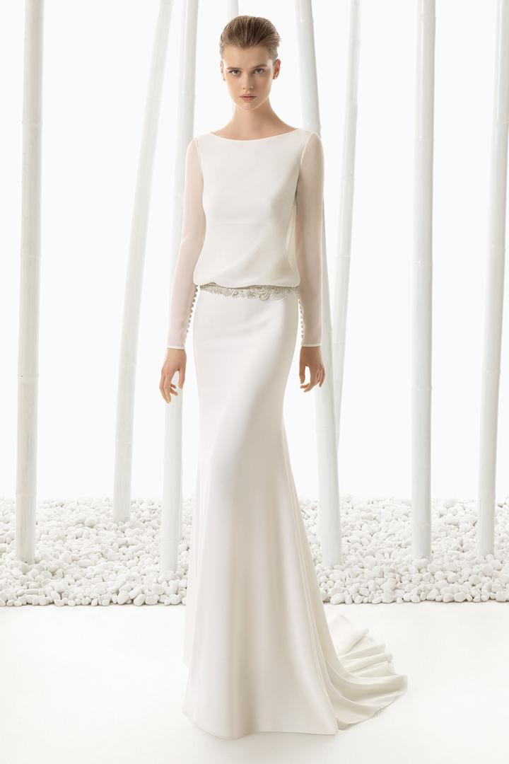 vestidos de novia rosa clará - stylelovely