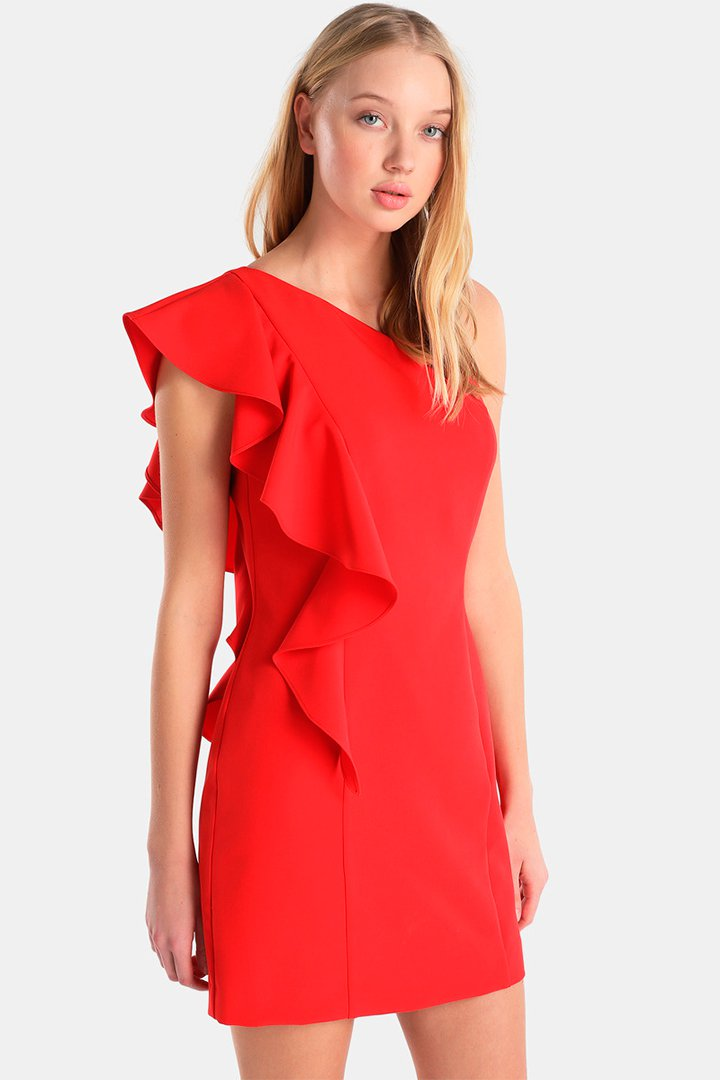 Vestidos de graduación rojo