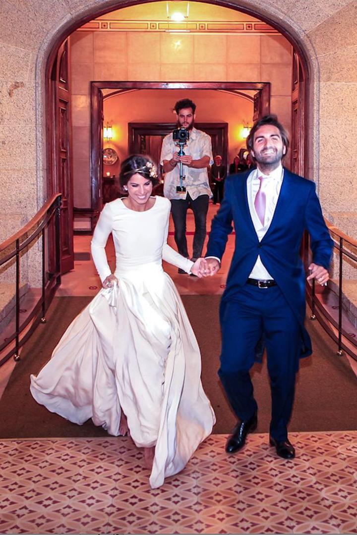 los vestidos de novias de las influencers - stylelovely