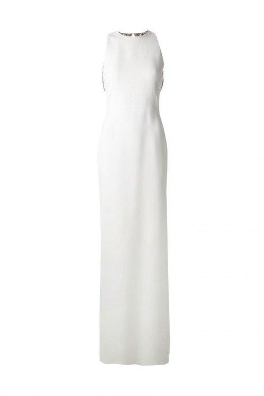 Vestido recto de Victoria Beckham