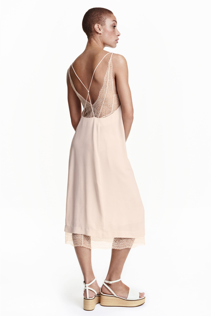 Slip dress de H&M