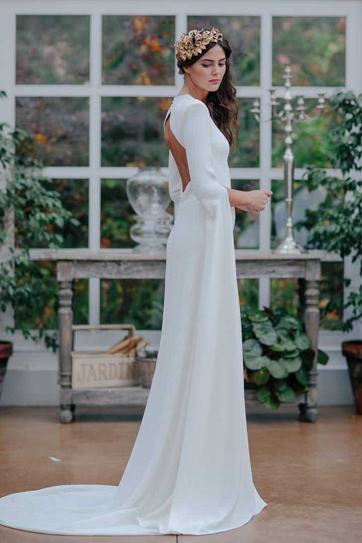 Vestidos de novia sencillos para campo
