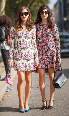 Vestidos de flores para primavera