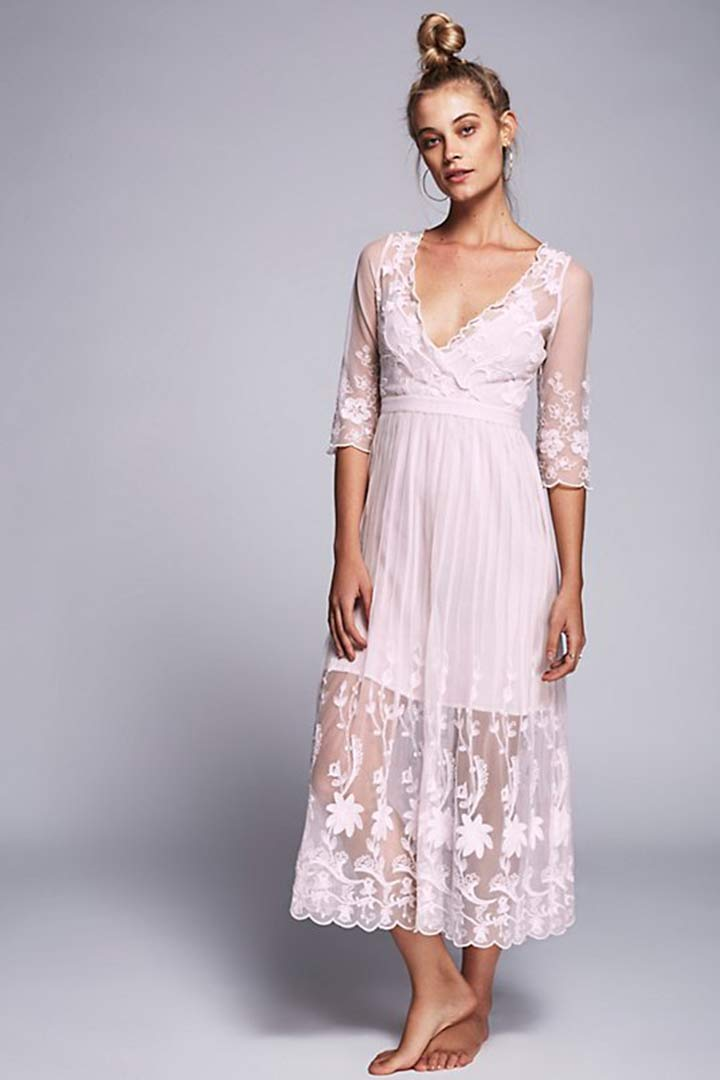 vestidos de novia cortos - stylelovely