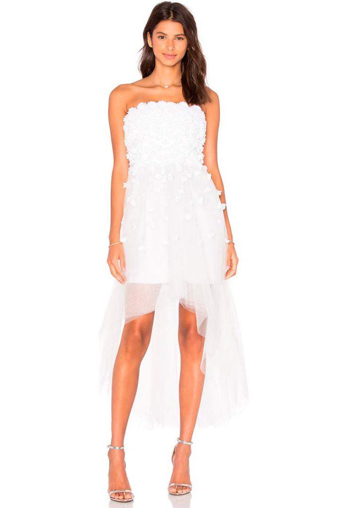 vestido de novia de revolve clothing