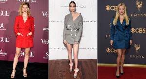 El vestido blazer de las celebrities
