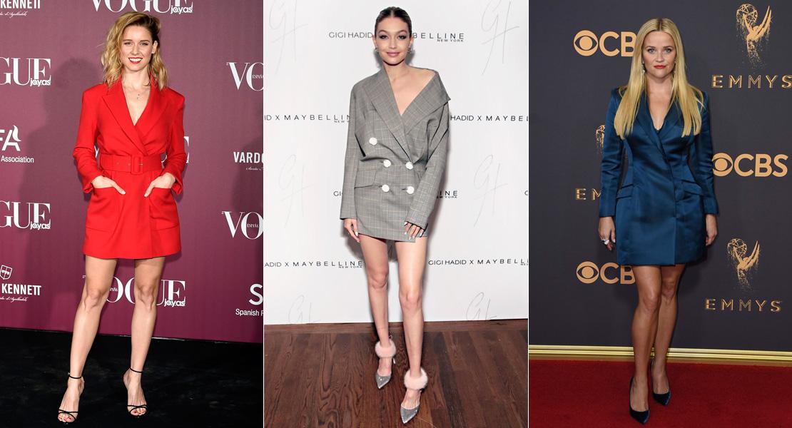 Mode Dokumentieren Konsistent  El vestido blazer es la tendencia que seguir esta Navidad - StyleLovely