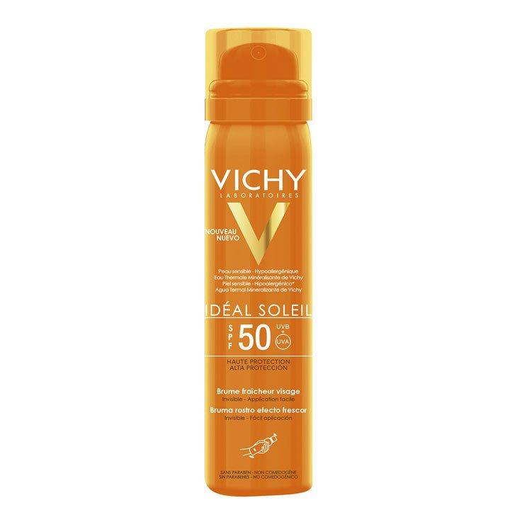 Bruma Invisible Efecto Frescor Idéal Soleil de Vichy: Cosméticos piel perfecta otoño