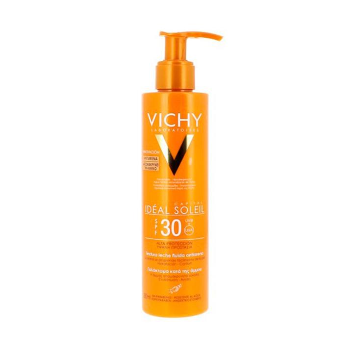 Leche Solar Antiarena de Vichy: protectores solares que triunfan