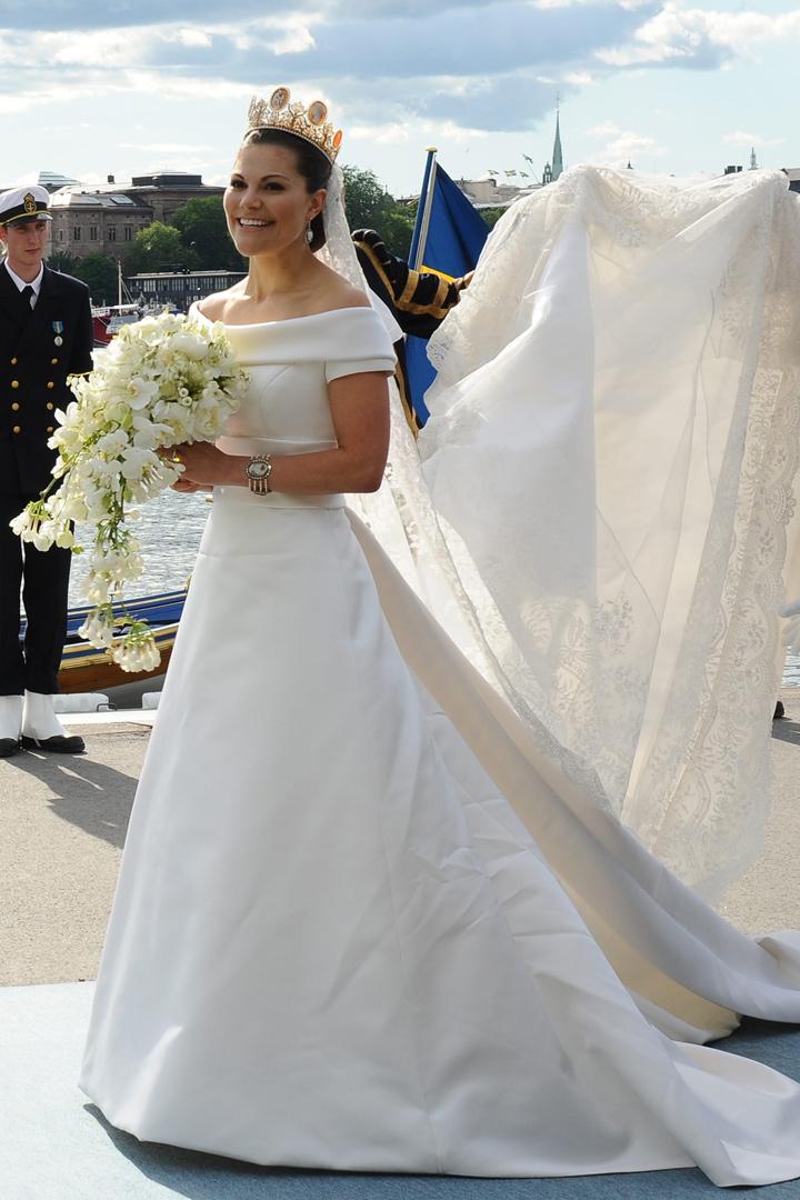 victoria de suecia de diseñador sueco los vestidos de las princesas