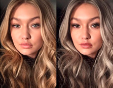 Esta cuenta de Instagram cambia la apariencia de las celebrities
