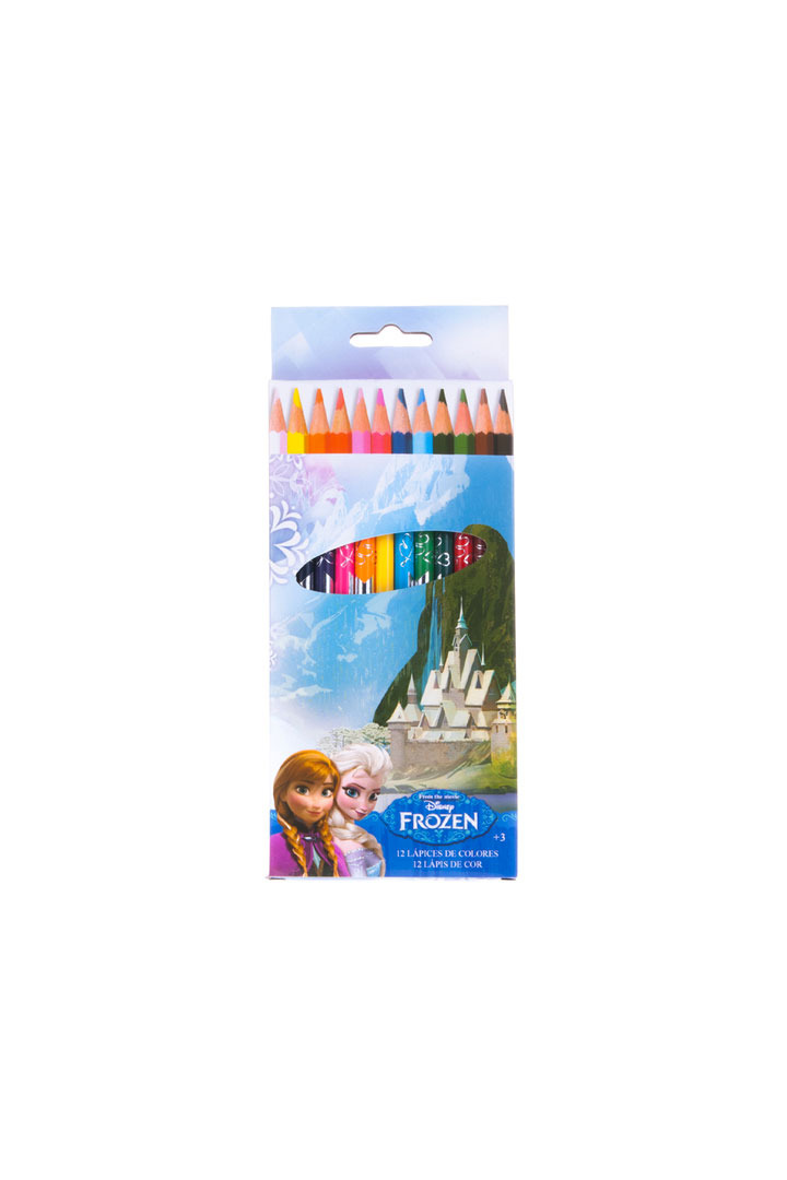 lápices de colores Vuelta al cole con Frozen