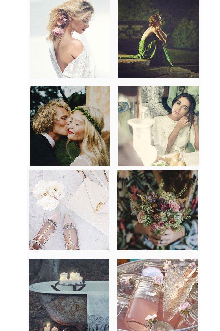 Instagram revista Wedding style magazine