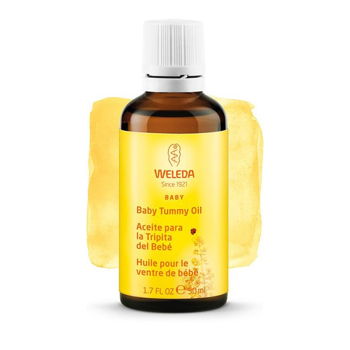 Aceite para la tripita del bebé de Weleda: productos mamás neceser
