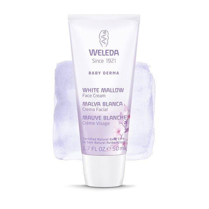 Malva Blanca Crema Facial de Weleda: productos mamás neceser