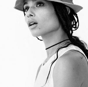 El maquillaje YSL de Zoë Kravitz