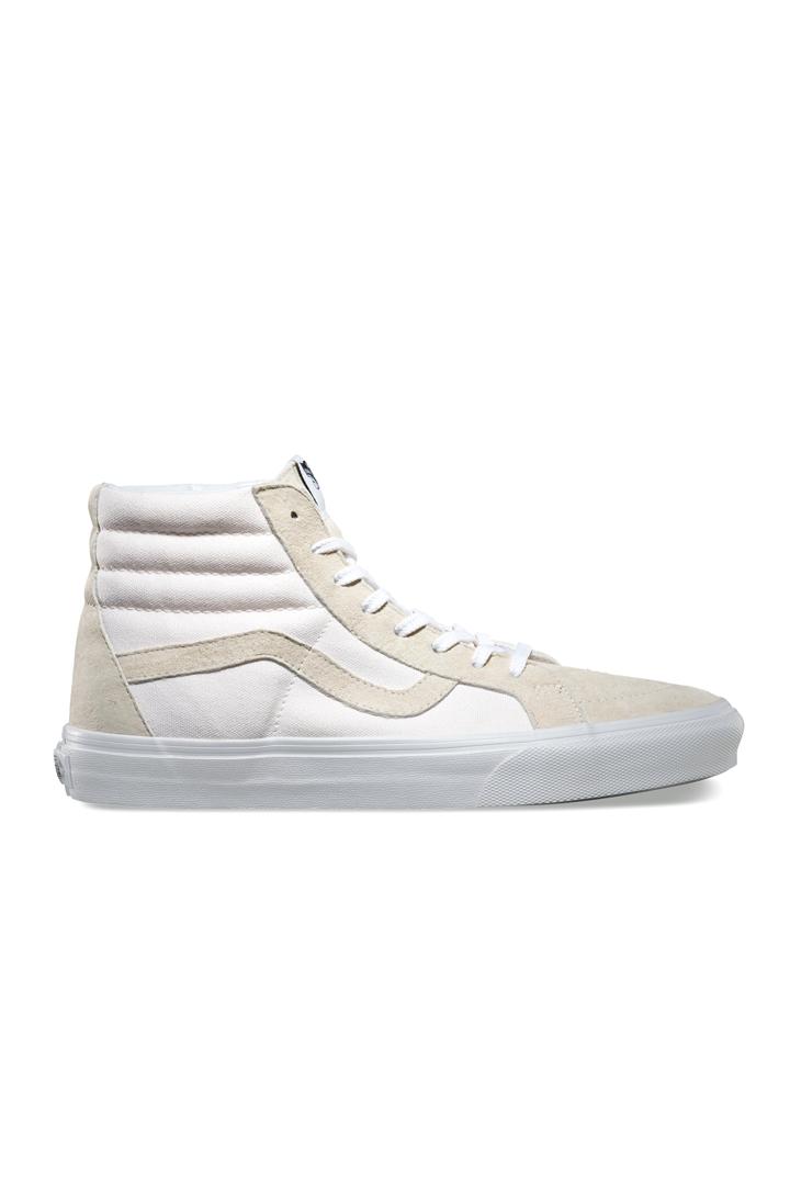032945dce84a0 Zapatillas blancas y beige de bota