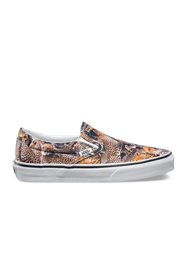 Zapatillas sin cordones con estampado animal f865259a4c0