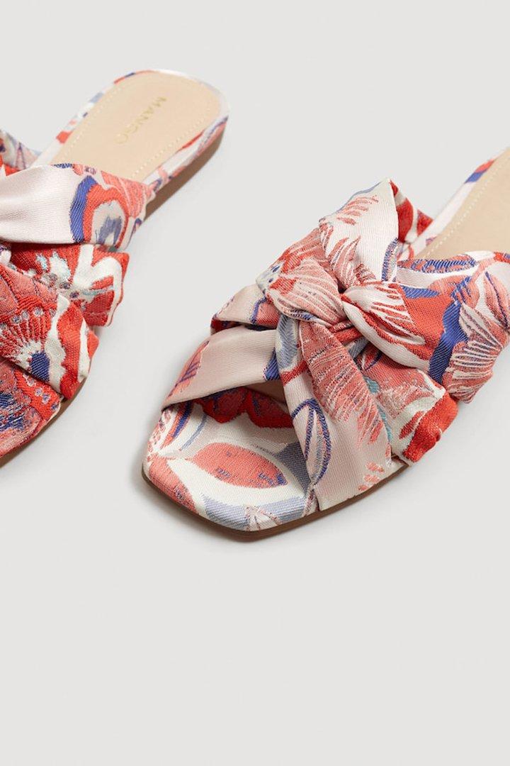 zapato bordado destalonado mango ropa
