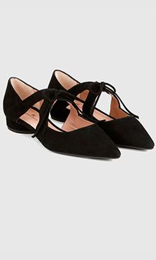 zapatos planos para ir a la oficina