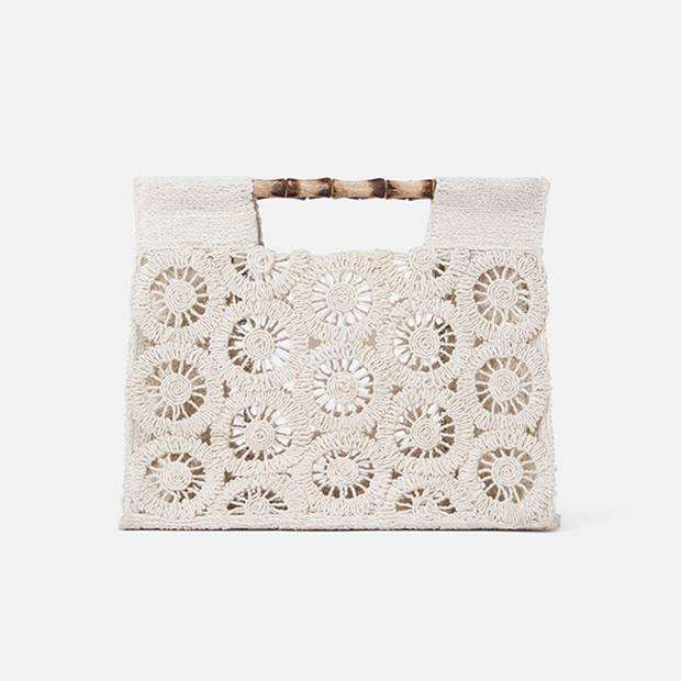 Bolso de crochet de Zara Primavera 2019