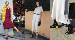 Zapatos bicolor: así se llevan