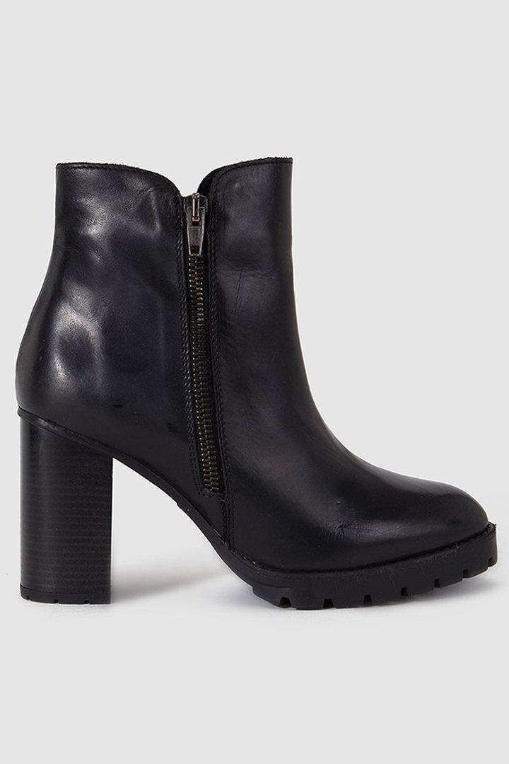 zapatos cómodos botines negros de fórmula jóven. El corte inglés