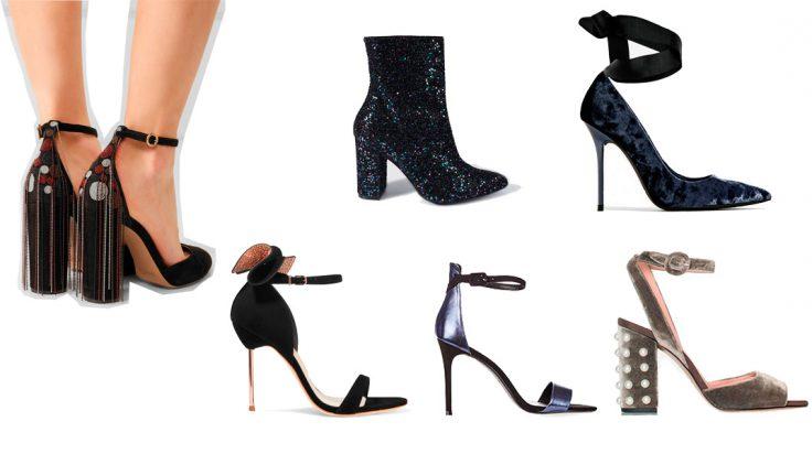 Zapatos de fiesta navidad