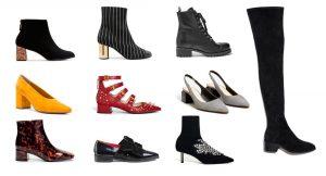 100 zapatos para este otoño/invierno
