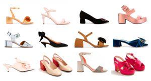 Zapatos de tacón bajo para invitadas