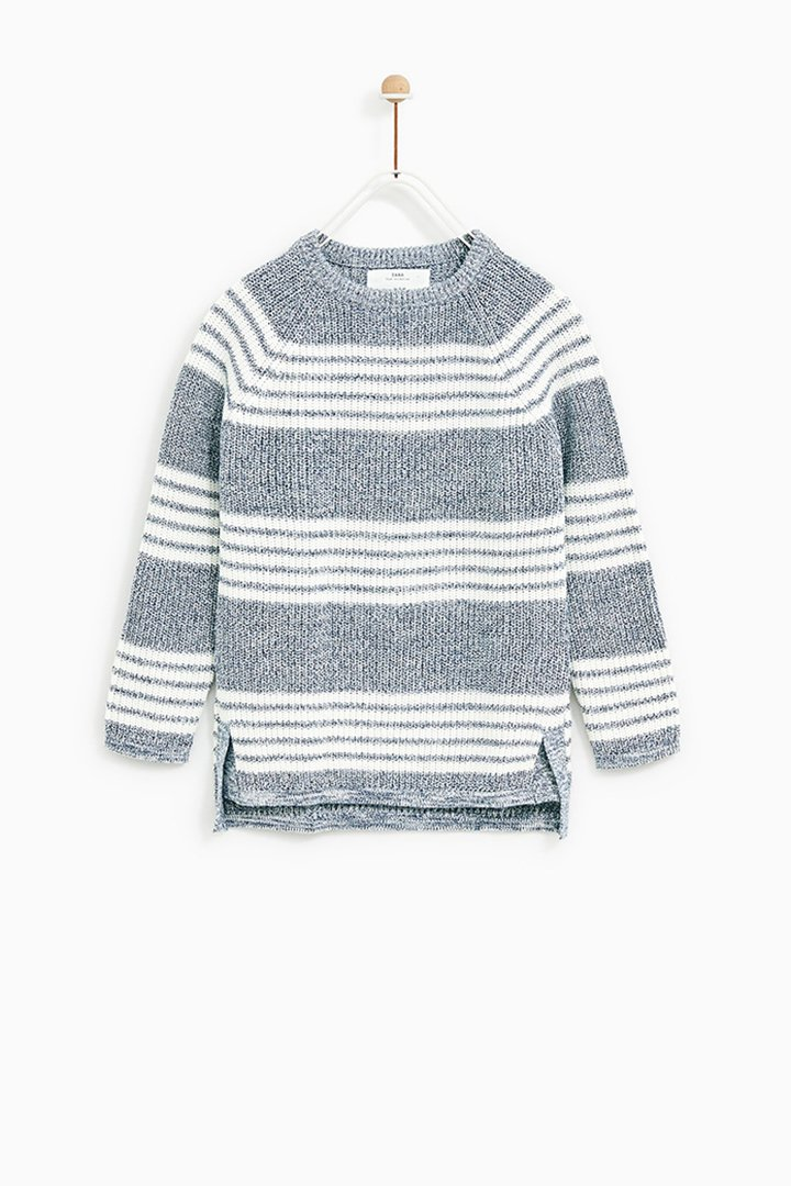 jersey de rayas de Zara Kids Primavera 2018