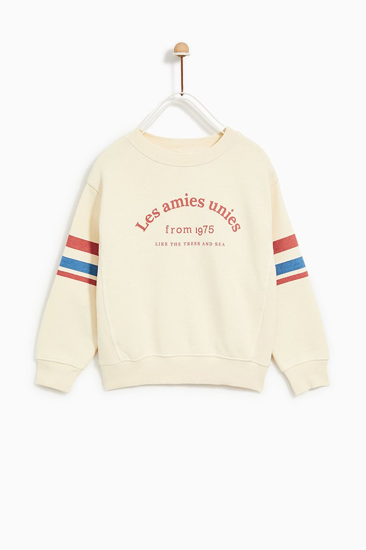 sudadera de Zara Kids Primavera 2018
