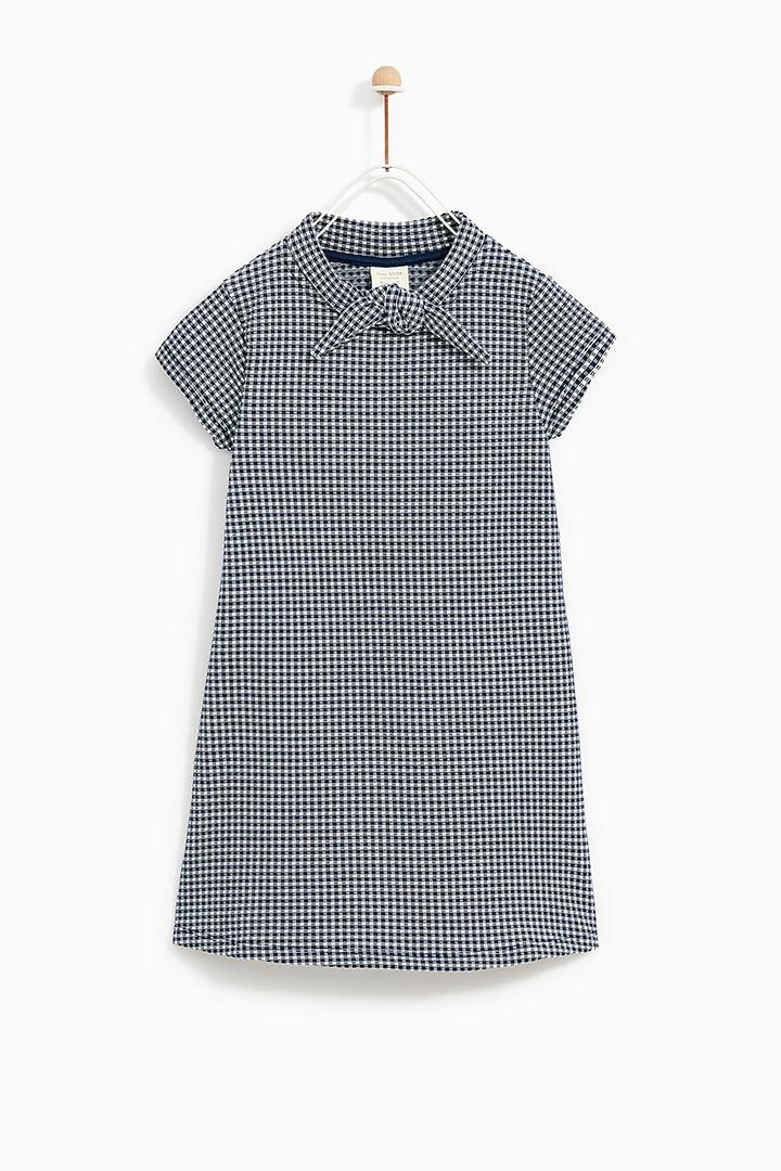 vestido con lazo de Zara Kids Primavera 2018