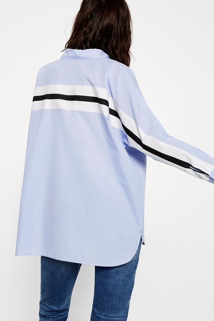 Camisa Oversize Zara Online