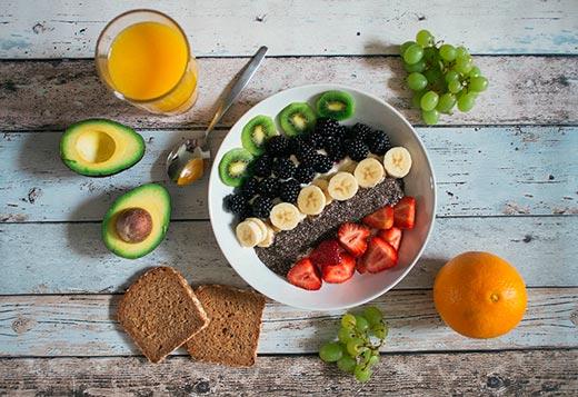 El zumo de frutas es un alimento prohibido