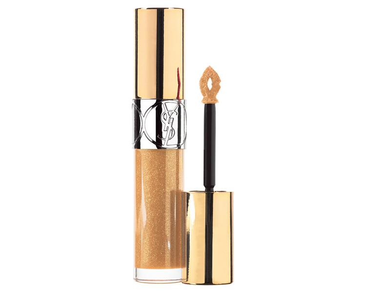 Gloss Volupté: potencia tu bronceado con labios dorados