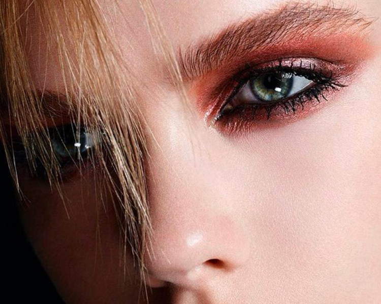 ©YSL Beauty Instagram. Sombras naranjas Couture Palette