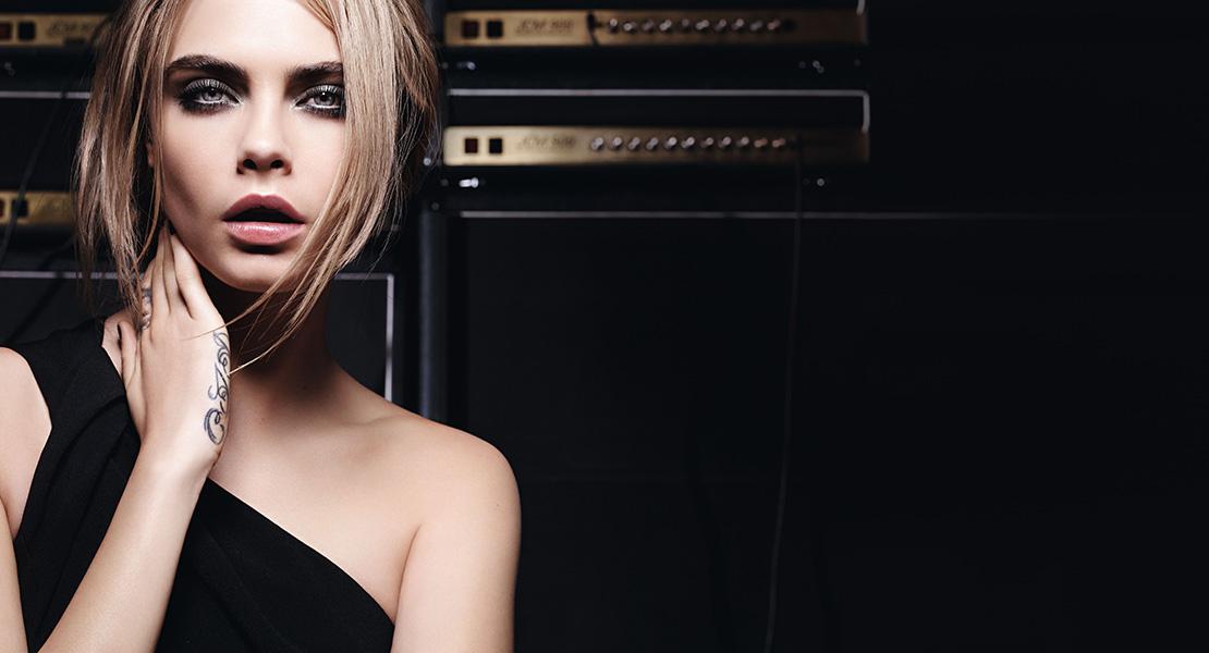 Cara Delevingne Yves Saint Laurent maquillaje ojos
