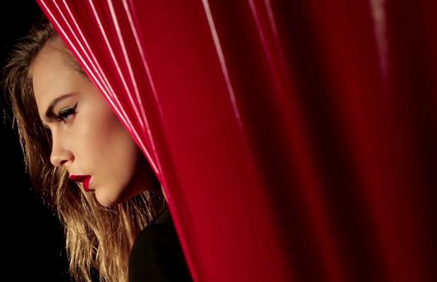 Cara Delevingne Yves Saint Laurent