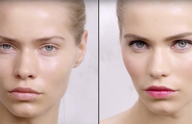 Yves Saint Laurent maquillaje romántico