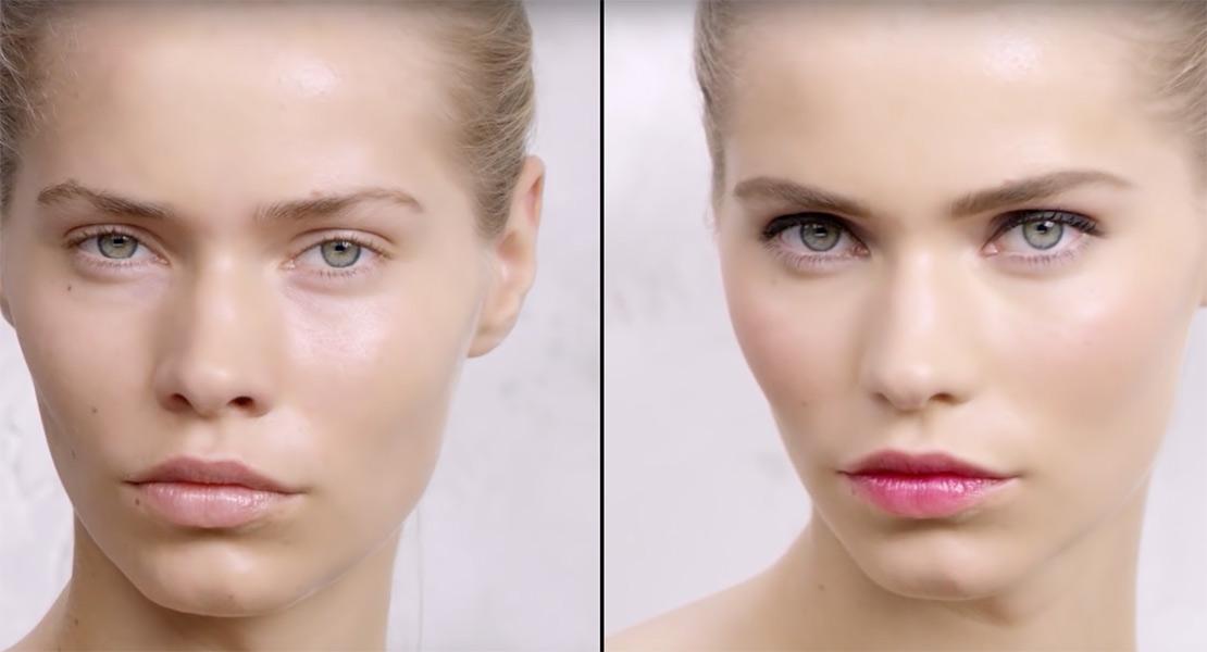 Yves Saint Laurent paso a paso para un maquillaje romántico