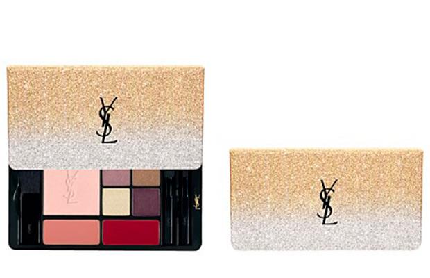 Maquillaje de Navidad de Yves Saint Laurent COUTURE EYE JEWELS SPARKLE CLASH EDITION