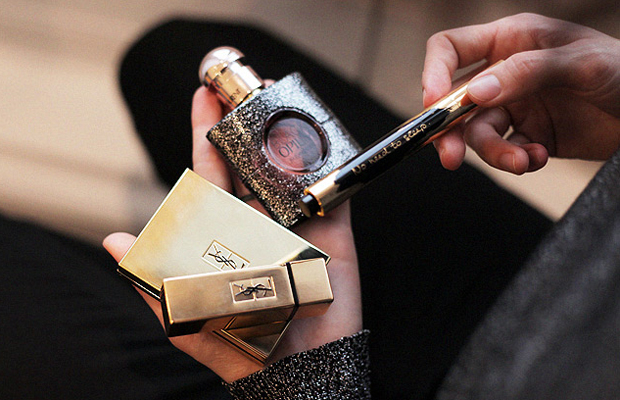 Che cosa: beauty look para Navidad con Yves Saint Laurent Beauty. Productos