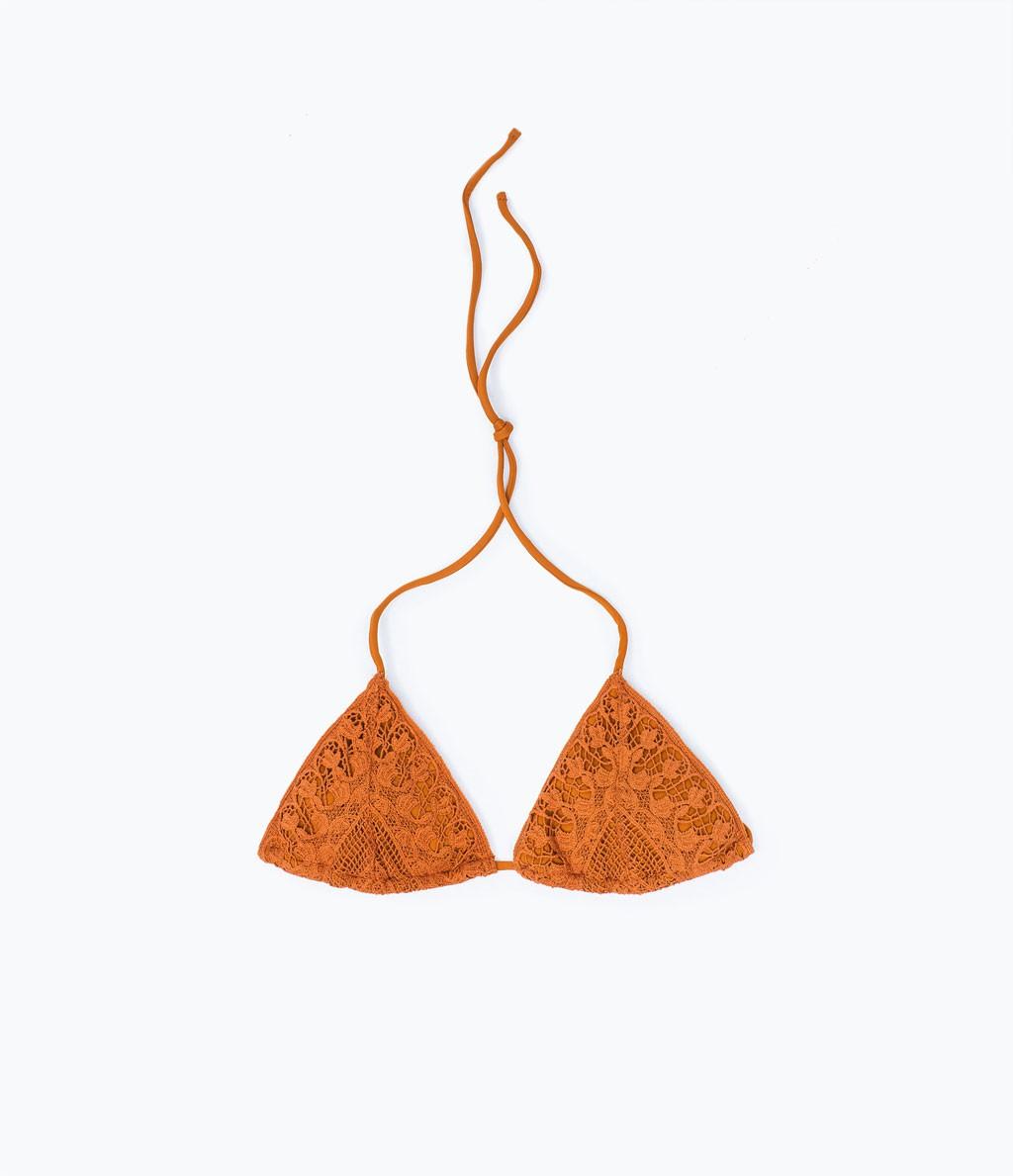 bikini croche de zara